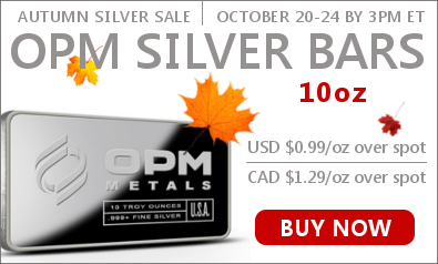 Autumn Silver Sale