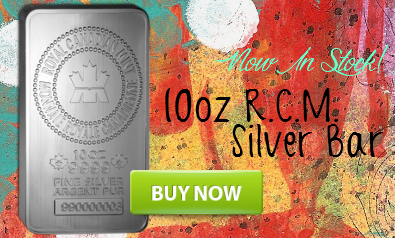 10oz RCM Silver Bars Now In Stock!