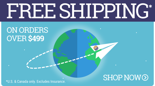 Free Shipping over $499.00