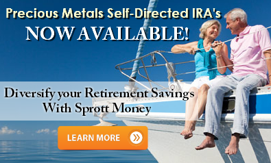 Precious Metals Self-Directed IRA now available!