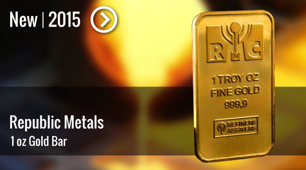 RMC 1oz Gold Bar Now Available!