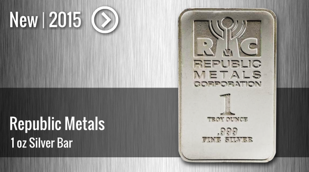 RMC 1oz Silver Bar Now Available!